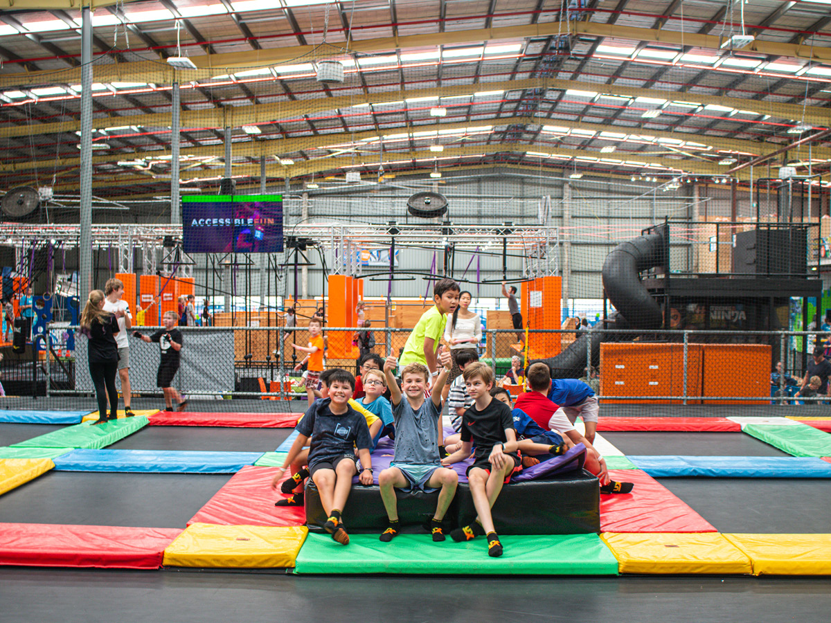 Keep your kids active and entertained with Brisbane's best school holiday program at Urban Xtreme.